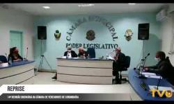 Reprise da 14ª Reunião Ordinária da Câmara de Vereadores de Corumbaíba realizada dia 02/06/2020