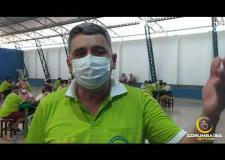 Prefeito Sebastião Rodrigues (Rodrigo Cebola)  fala sobre o investimento no esporte em Corumbaíba.