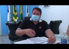 Prefeito Wísner Araújo fala sobre novo Decreto Municipal em Corumbaíba -GO