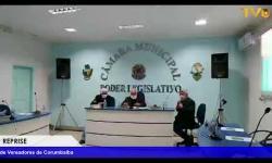 Reprise da 16ª Reunião Ordinária da Câmara de Vereadores de Corumbaíba realizada dia 04/06/2020