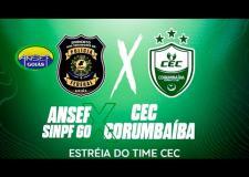 CAMPEOANTO GOIANO DE FUTSAL 2021   ANSEF/SINPF GO  X  CEC CORUMBAÍBA