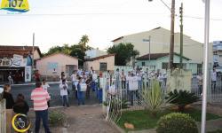 Alvorada Festiva com a Banda Marcial do Colégio Estadual Simon Bolívar