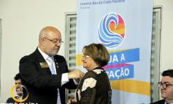 Pose da Diretoria do Rotary Clube de Corumbaíba