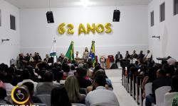 Comemoração dos 62 anos da Fundação da Igreja Assembleia da Deus de Corumbaíba