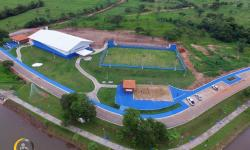 Inauguração do Centro Poliesportivo Iroam Carlos Borges