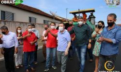 Fotos da Live de Inauguração e Lançamentos de Obras  e visitas do Deputado  Estadual Bruno Peixoto e o Deputado Federal José Nelto