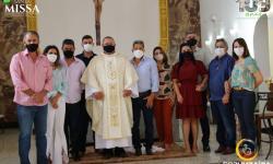 Missa em comemoração ao aniversário de Corumbaíba