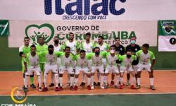 1º Jogo da Final Copa Goiás de Futsal   CEC CORUMBAIBA X VILA NOVA