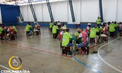 CAMPEONATO GOIANO DE TRUCO 2021  time de Corumbaiba  Sociedade Recreativa União vence em sua estreia