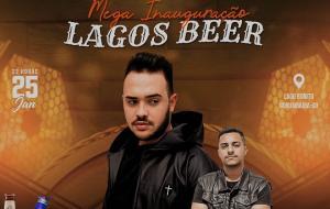 Inauguração do LAGOS BEER