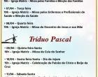 Programação da Semana Santa 2020 de Corumbaíba