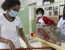 Escolas públicas do Rio recebem oficina sobre deslizamento de encostas