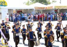 Apresentação da Banda Marcial de Cumari - GO no Aniversário de Corumbaíba 107 anos