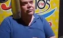 Prefeito Wisner Araújo participa de   entrevista na Rádio  3 Rios FM