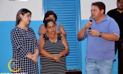 """O Prefeito Wisner Araújo realizou, a entrega de mais uma casa popular do """"Minha Nova Casa""""."""