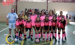 1ª Copa Futsal Feminino de Nova Aurora - GO SEC CORUMBAÍBA X CUMARI