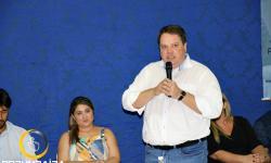 Fala do Prefeito Wísner Araújo  no Ato de filiação do PP - Partido Progressista em Corumbaíba