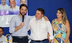 Fala Pres. PP de Goiás Alexandre Baldy  no Ato de filiação  PP - Partido Progressista em Corumbaíba.