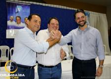 Filiação do Prefeito Wísner Araújo ao PP (Partido Progressista) na cidade de Corumbaíba.