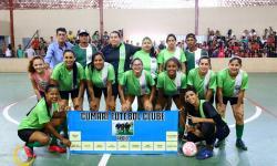 Semifinal da 1ª Copa Futsal Feminino de Nova Aurora - GO