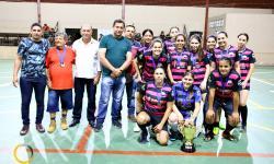 Disputa de 3º lugar da Copa Futsal feminino de Nova Aurora jogo entre Nova Aurora x Cumari