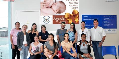 A Secretaria de Saúde de Corumbaíba divulga programação do Agosto Dourado 2019 em Corumbaíba