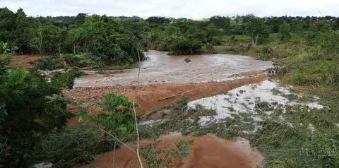 Em 12h, Pontalina registra 90% do volume de chuva previsto para o mês na cidade