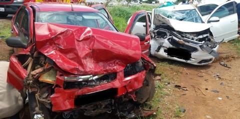 Criança fica gravemente ferida em acidente entre Caldas Novas e Piracanjuba