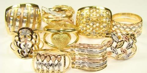 Os tipos de ouro e suas utilizações em joias