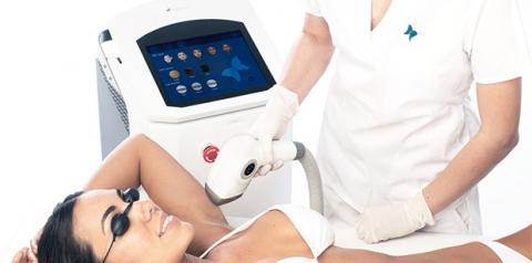 Equipamento de depilação a laser une três tecnologias na mesma ponteira