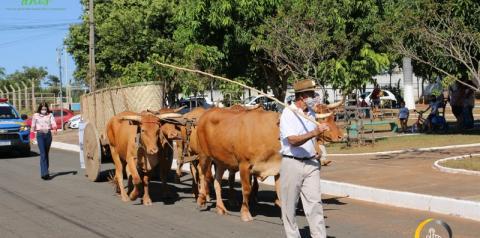 Desfile comemoração aos 109 anos de Corumbaíba