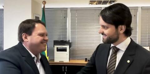 Ministro das Cidades Alexandre Baldy  visitará Corumbaíba na próxima segunda