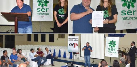 Prefeito de Corumbaíba firma carta de compromisso em apoio ao Projeto Ser Natureza