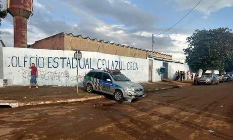 Aluno mata professor a tiros dentro de escola em Valparaíso (GO)