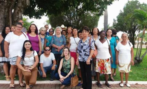Grupo da Melhor Idade de Corumbaíba participa do primeiro encontro de Grupos da Terceira Idade em Goiandira-GO
