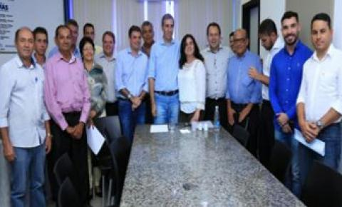 José Eliton  participa de reunião com prefeitos da região sudeste de Goiás