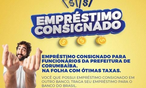 Novidades de Empréstimo Consignado no Banco do Brasil em Corumbaíba