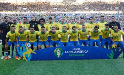 Brasil vence o Peru e é campeão da Copa América