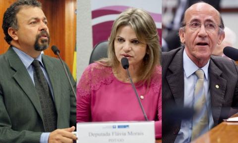 Dos 17, apenas 3 deputados federais de Goiás votam contra a reforma da Previdência