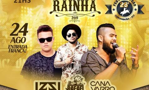 Rainha do Rodeio de Corumbaíba 2019.