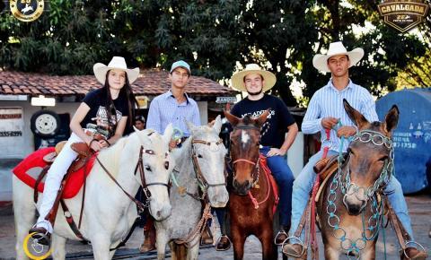 Cavalgada da 26ª Festa do Peão de Corumbaíba