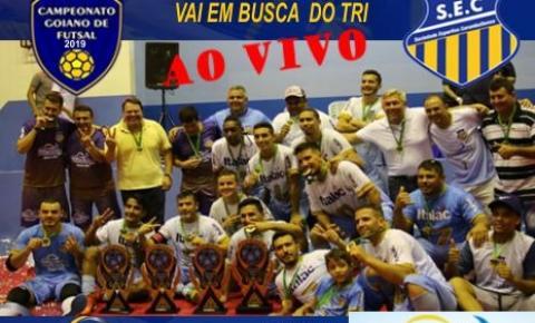 SEC - Sociedade Esportiva Corumbaibense se prepara para o Tri no Campeonato Goiano de Futsal