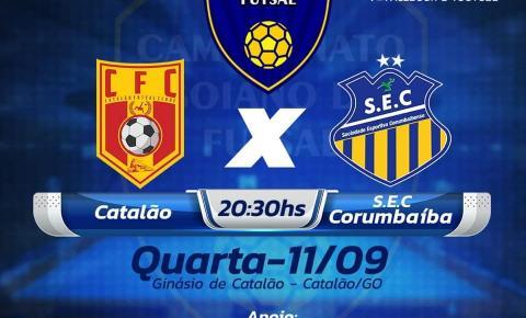 Começa hoje a disputa do Goiano de Futsal e equipe de SEC/Corumbaíba apresenta mais reforços.