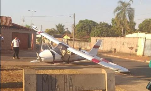 Após queda de avião em Rio Verde, outro avião cai próximo à escola em Trindade
