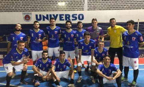 Universo vence a primeira no Goiano de Futsal