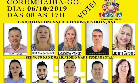Conheça os candidatos a Conselheiro Tutelar de Corumbaíba 2019