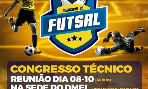 24º Campeonato Municipal de Futsal de Corumbaíba