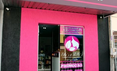 Ella's & Bella's Cosméticos e Bijuterias inaugura sua loja em Corumbaíba