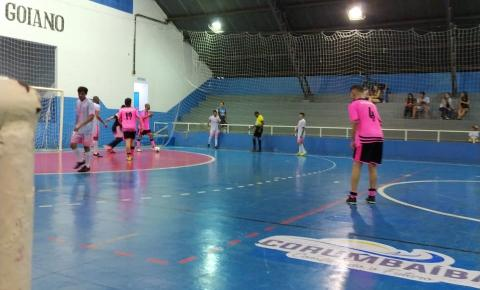 3ª Rodada do Campeonato Municipal de  Futsal de Corumbaíba tem jogos quentes e muita rivalidade