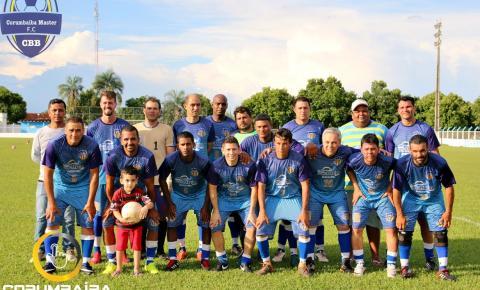 Corumbaíba Master Estreia  com Vitória em sua primeira  Partida no Campeonato Regional de Campo
